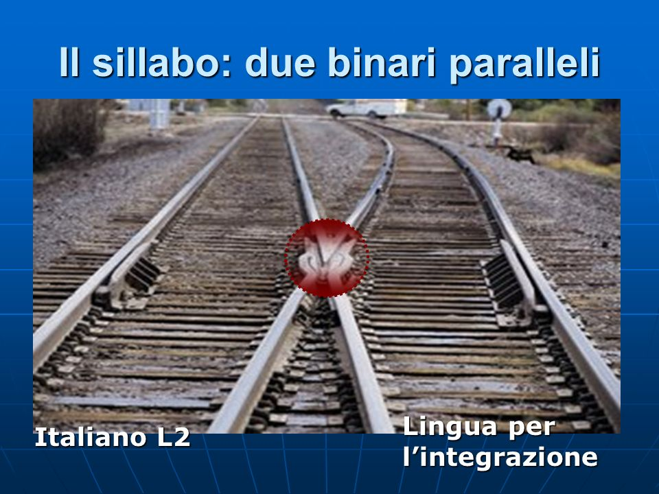 Il sillabo: due binari paralleli