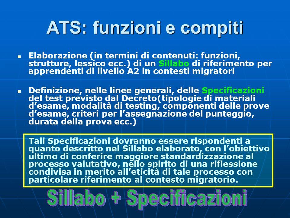 ATS: funzioni e compiti