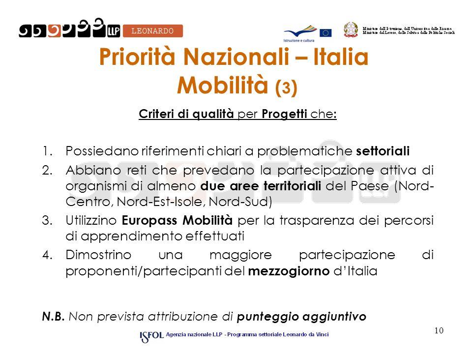 Priorità Nazionali – Italia Mobilità (3)