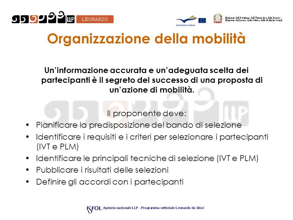 Organizzazione della mobilità