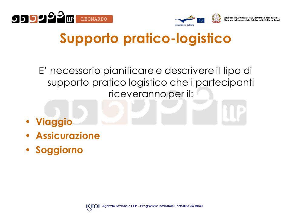 Supporto pratico-logistico