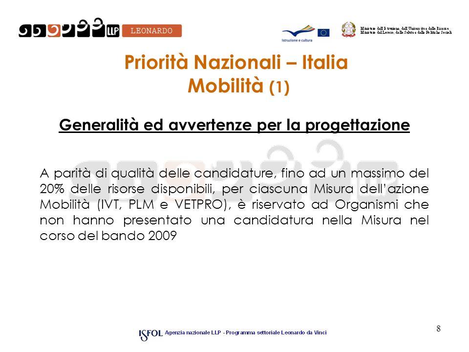 Priorità Nazionali – Italia Mobilità (1)