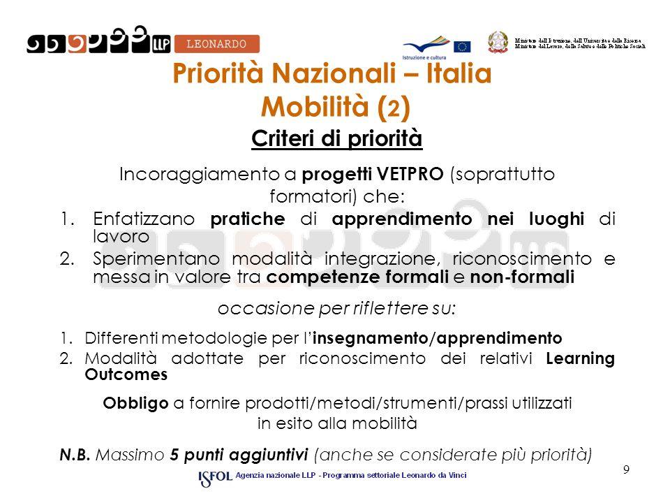 Priorità Nazionali – Italia Mobilità (2)