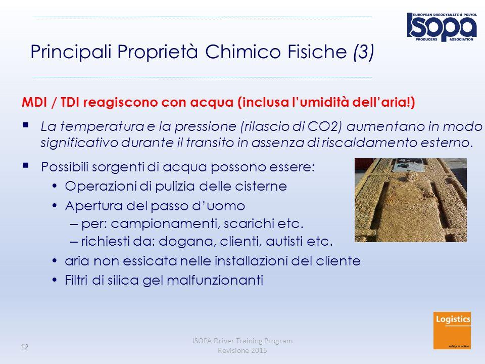 Principali Proprietà Chimico Fisiche (3)
