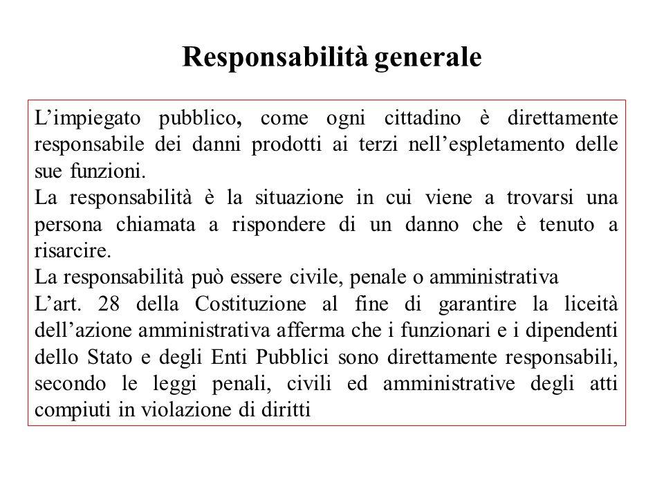 Responsabilità generale
