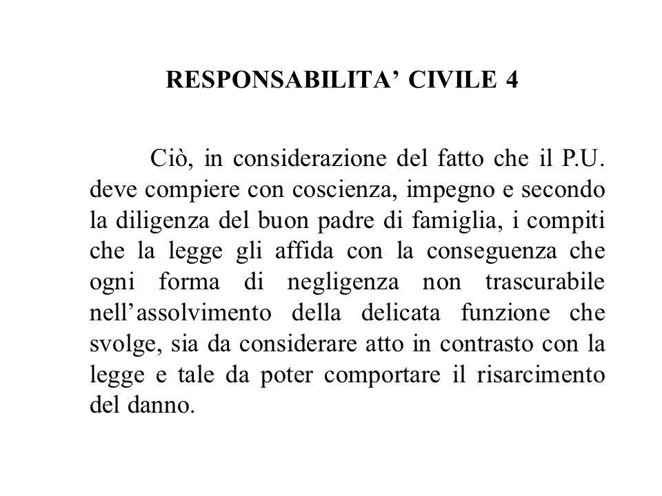 RESPONSABILITA' CIVILE 4