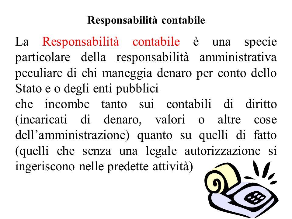 Responsabilità contabile