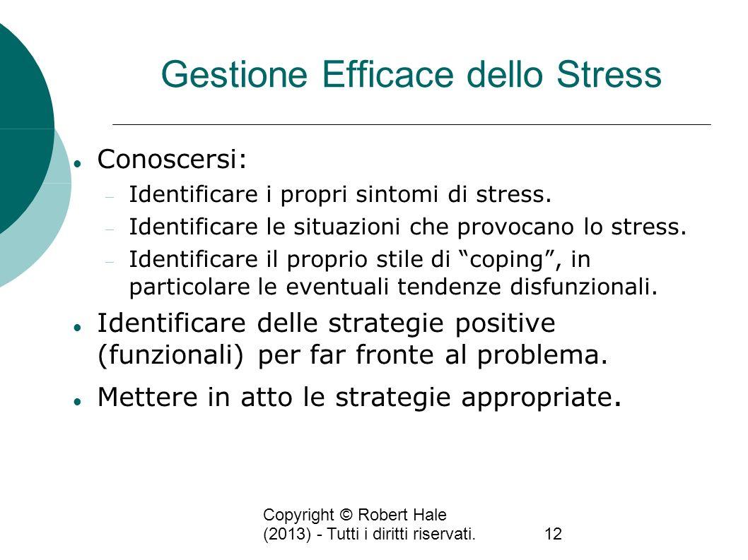 Gestione Efficace dello Stress