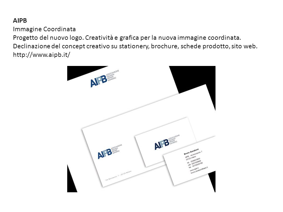 AIPB Immagine Coordinata.