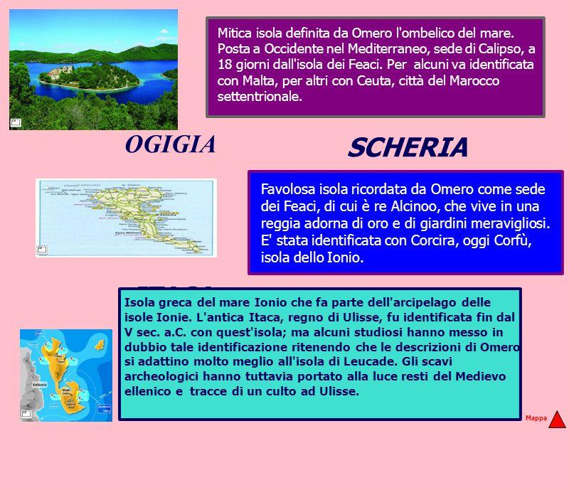 Mitica isola definita da Omero l ombelico del mare