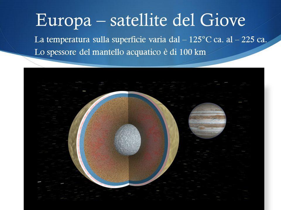 Europa – satellite del Giove