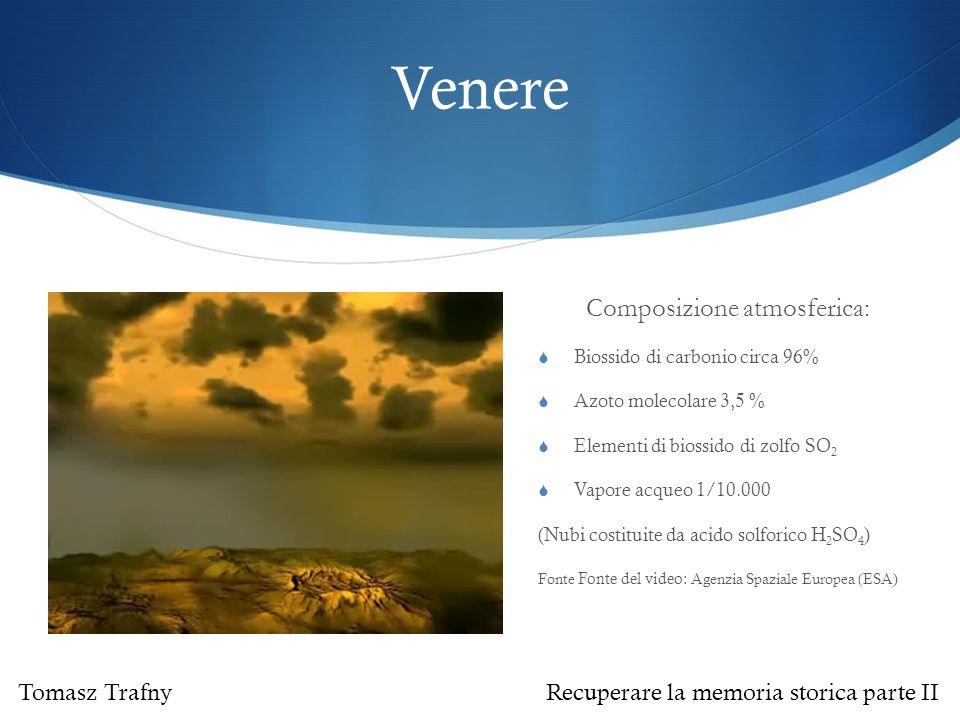 Composizione atmosferica: