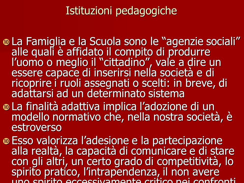 Istituzioni pedagogiche