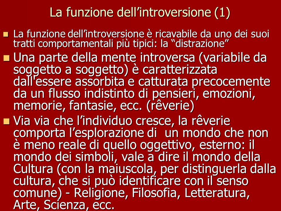 La funzione dell'introversione (1)