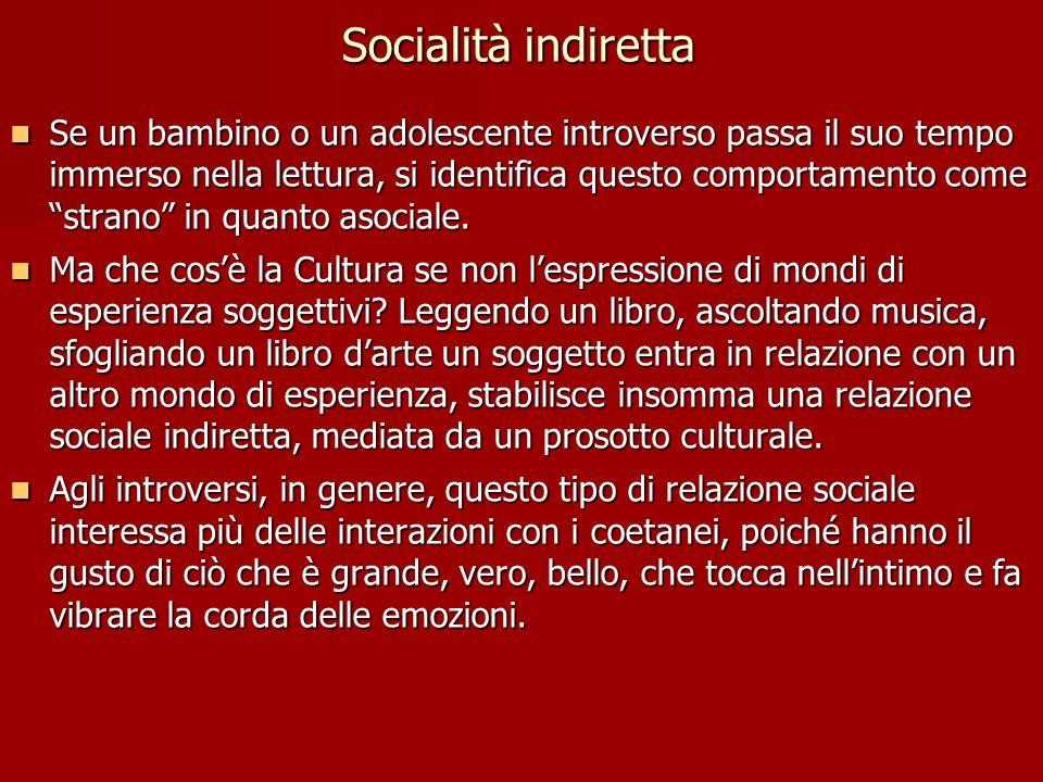 Socialità indiretta