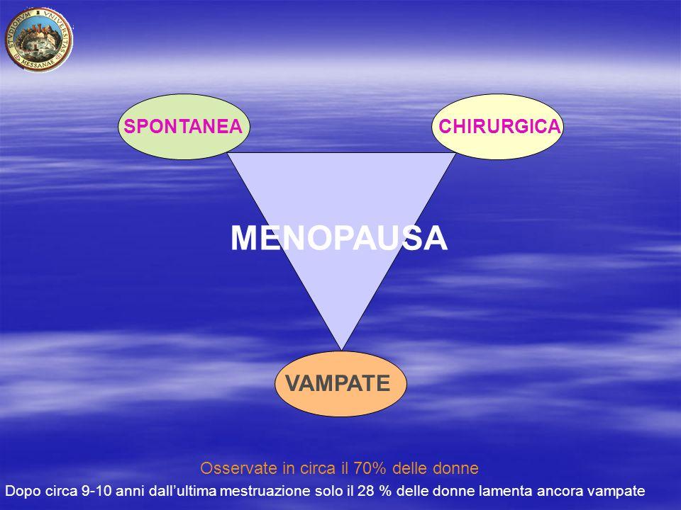 MENOPAUSA VAMPATE SPONTANEA CHIRURGICA