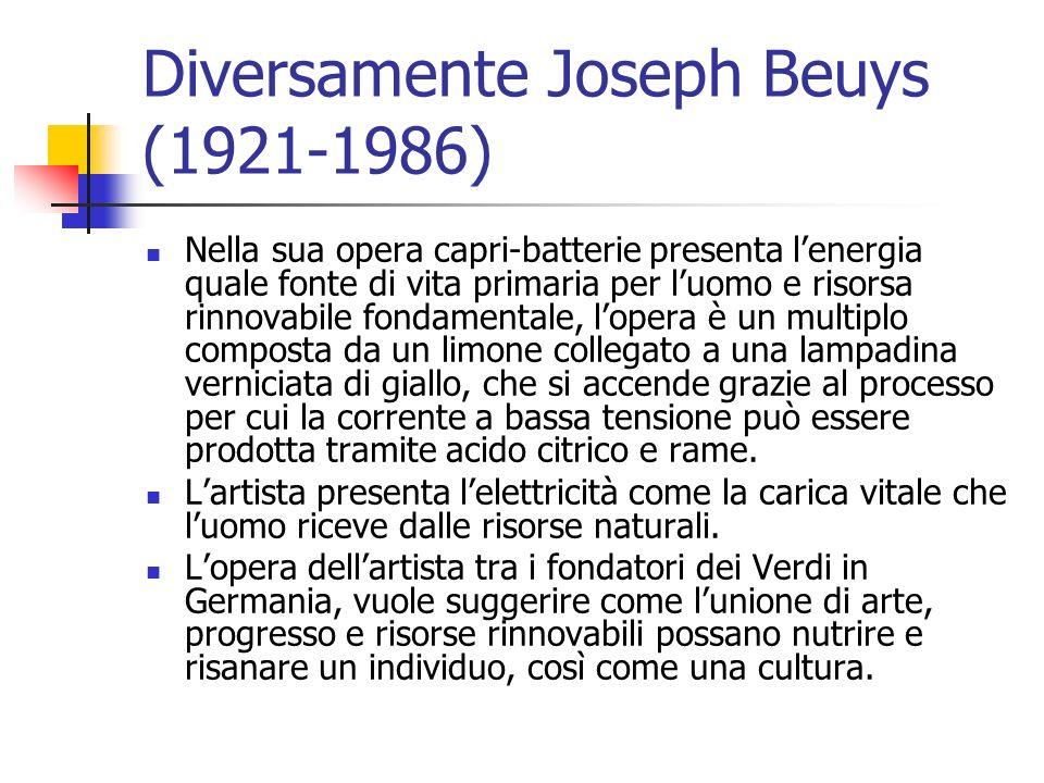 Diversamente Joseph Beuys (1921-1986)