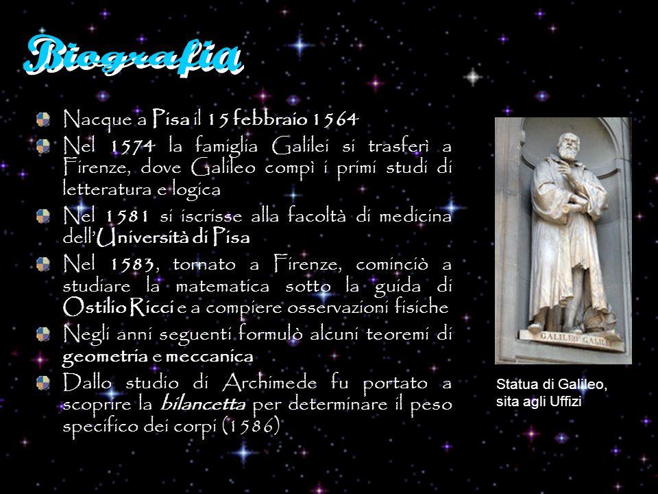 Biografia Nacque a Pisa il 15 febbraio 1564
