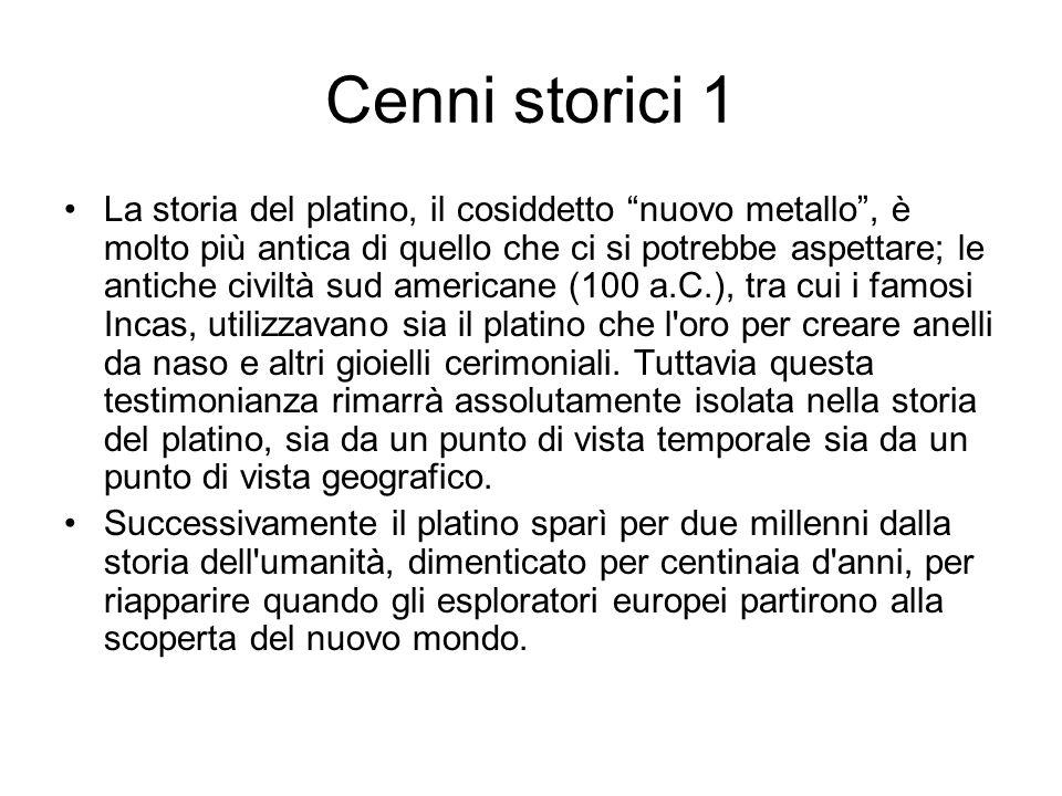 Cenni storici 1