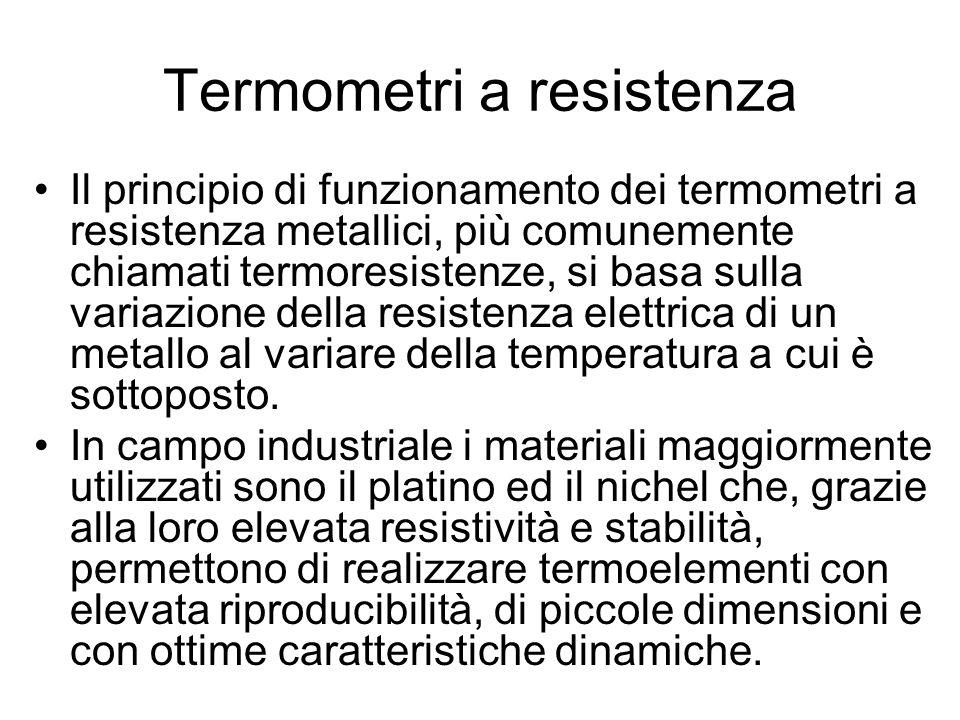 Termometri a resistenza