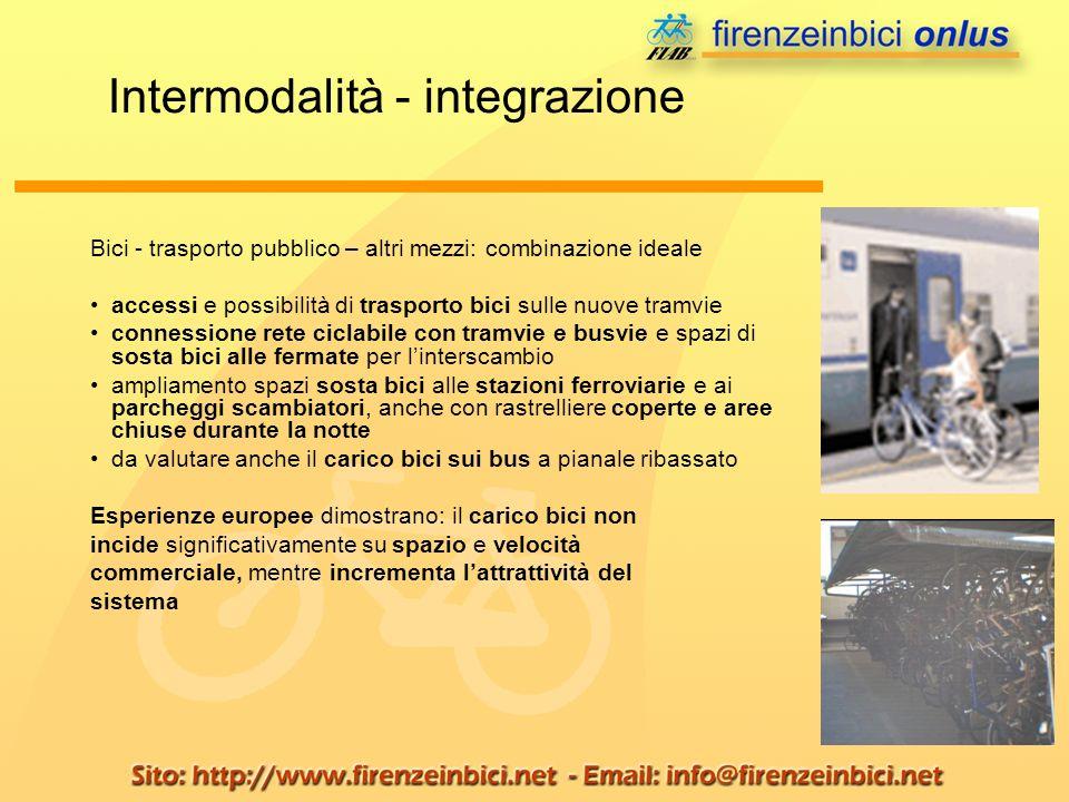 Intermodalità - integrazione