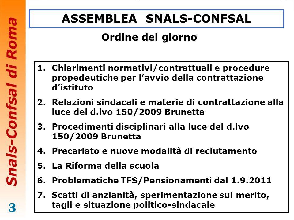 ASSEMBLEA SNALS-CONFSAL