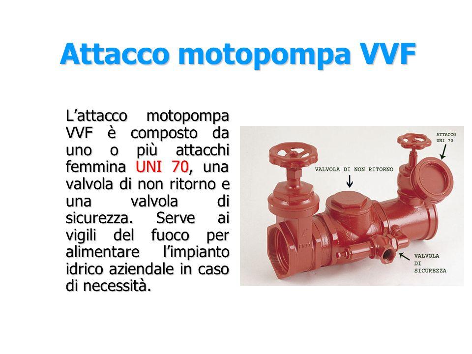 Attacco motopompa VVF