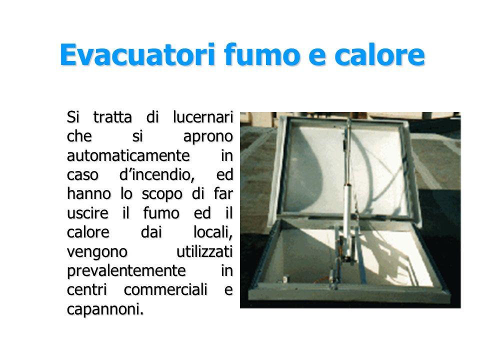Evacuatori fumo e calore
