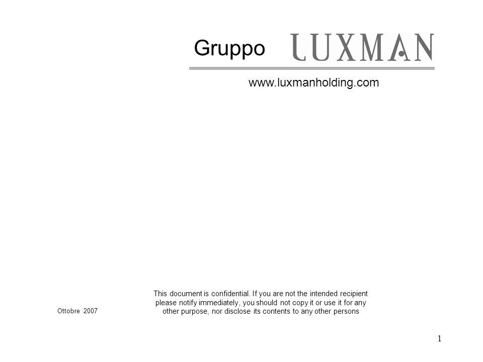 Gruppo www.luxmanholding.com