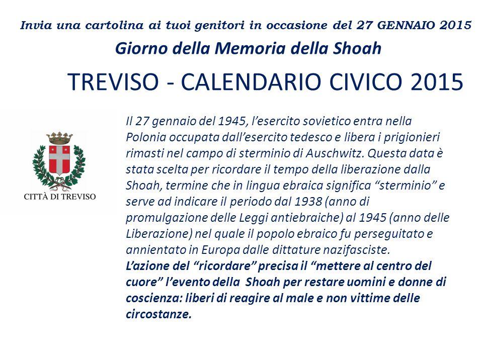 TREVISO - CALENDARIO CIVICO 2015