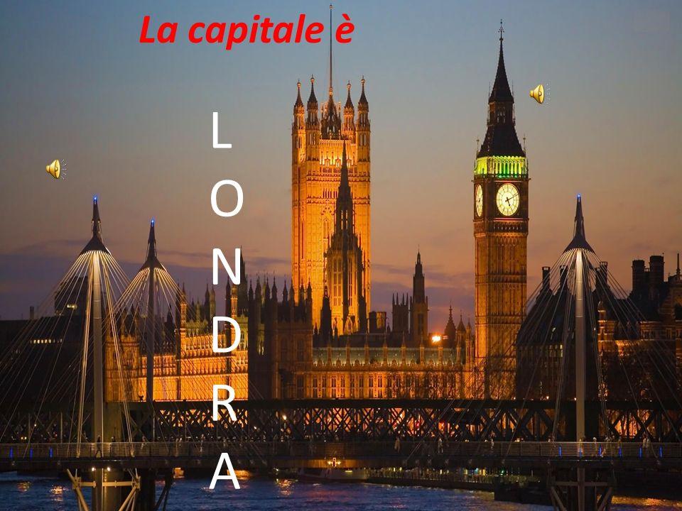 La capitale è L O N D R A