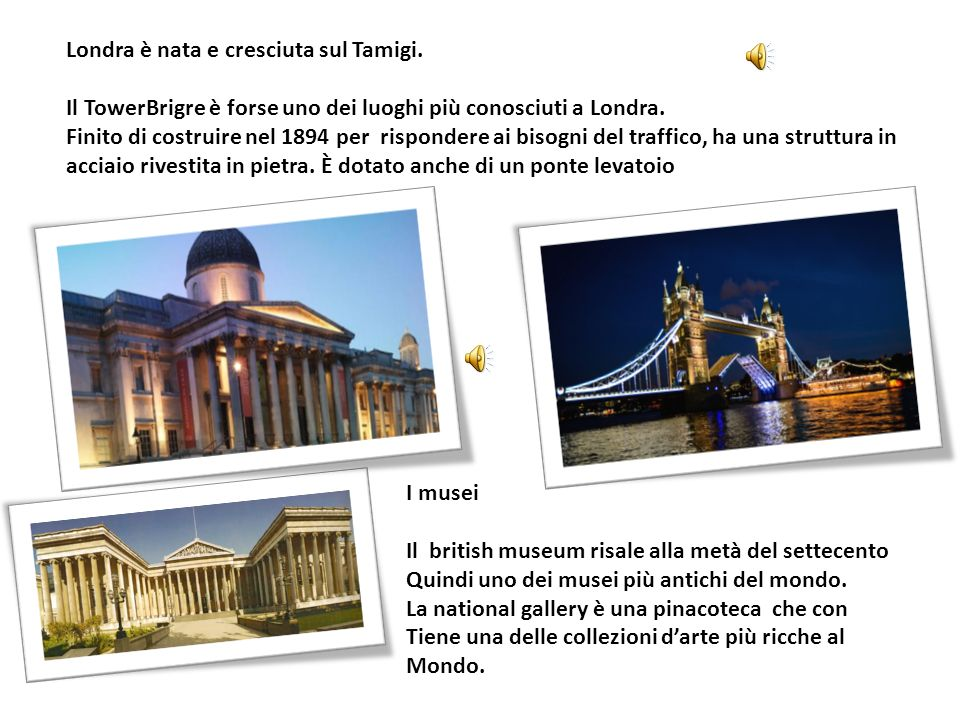 Londra è nata e cresciuta sul Tamigi.