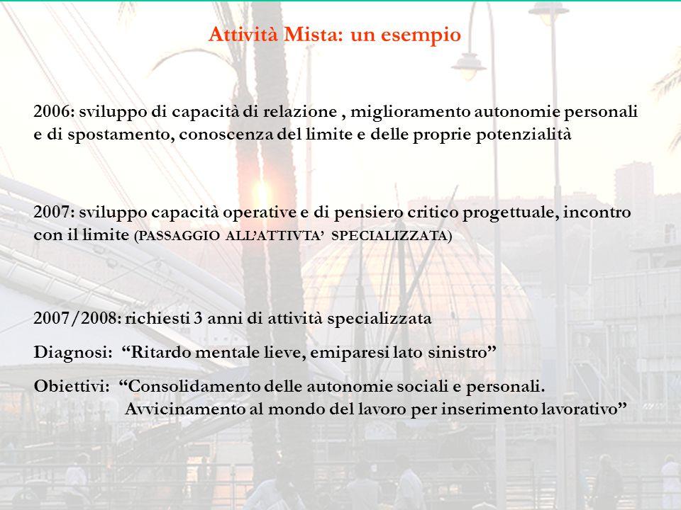Attività Mista: un esempio