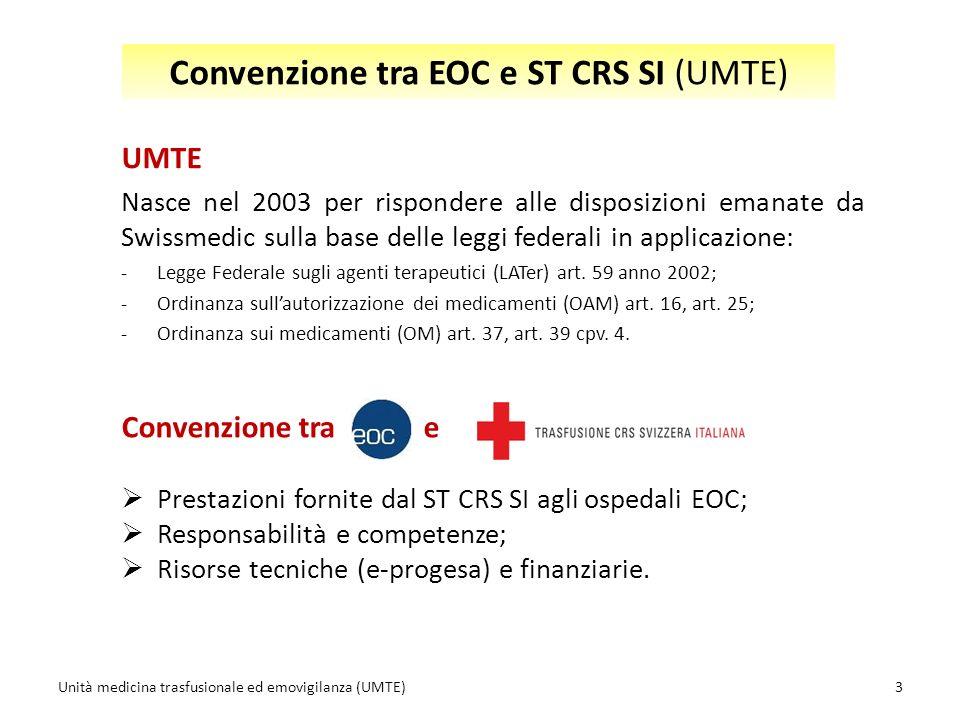 Convenzione tra EOC e ST CRS SI (UMTE)