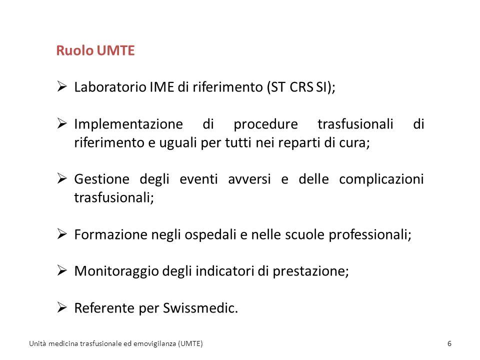 Laboratorio IME di riferimento (ST CRS SI);