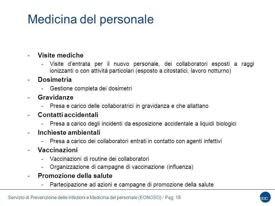 Medicina del personale