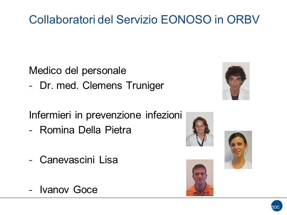 Collaboratori del Servizio EONOSO in ORBV