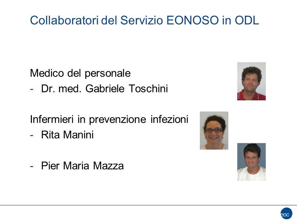 Collaboratori del Servizio EONOSO in ODL