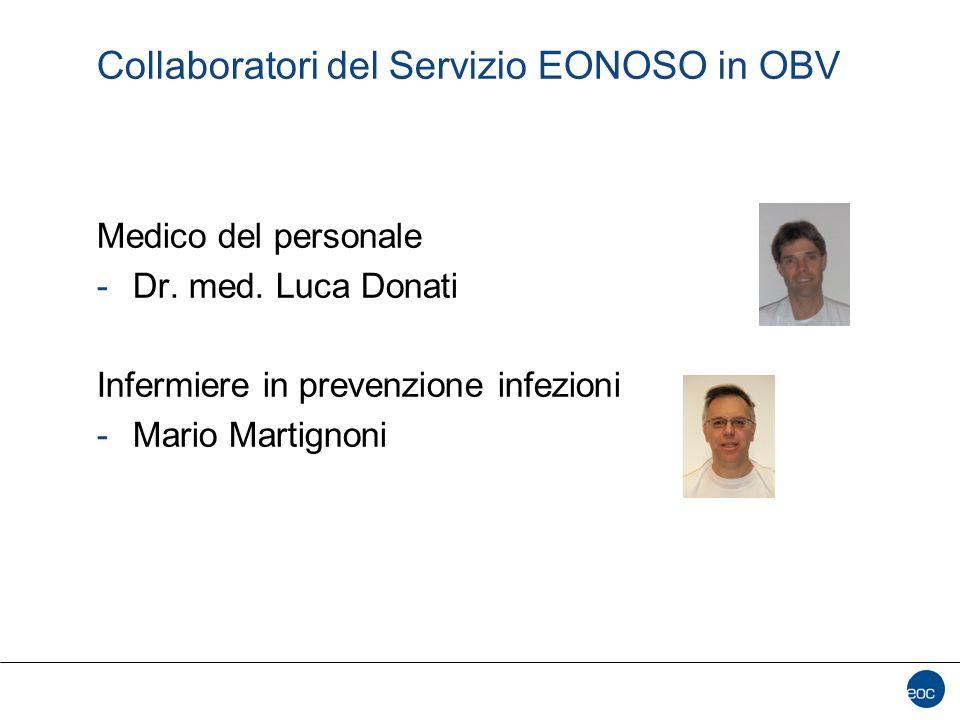 Collaboratori del Servizio EONOSO in OBV
