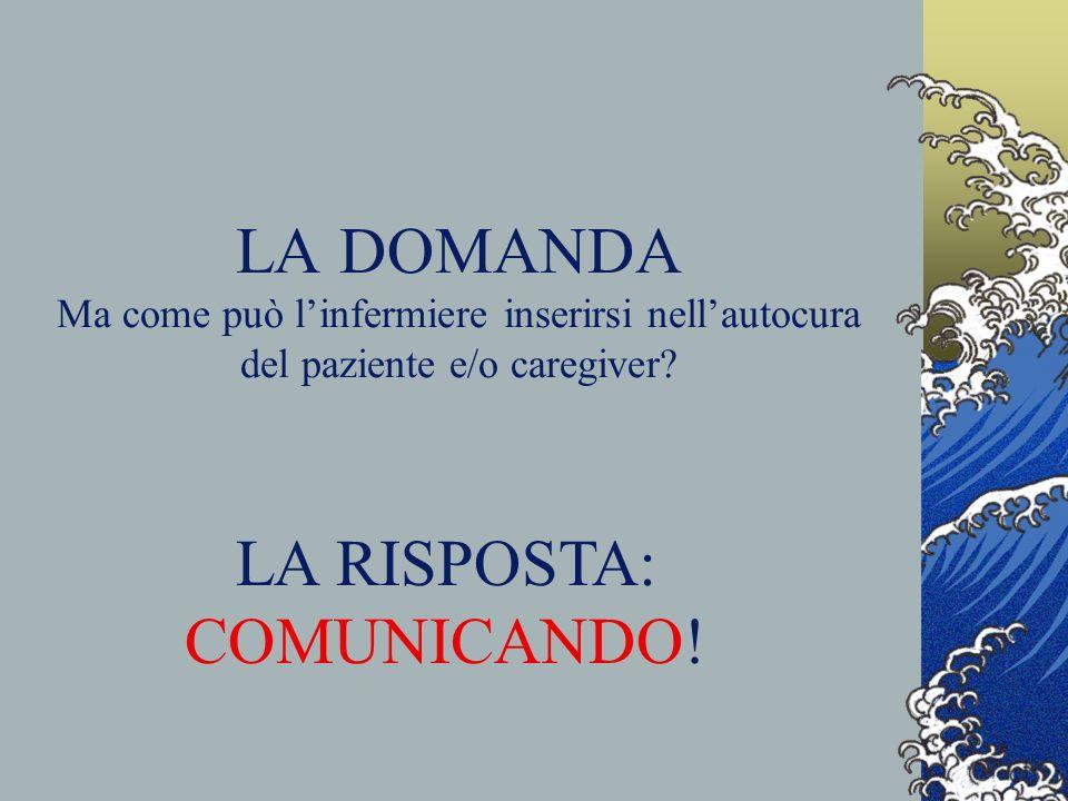 LA RISPOSTA: COMUNICANDO!