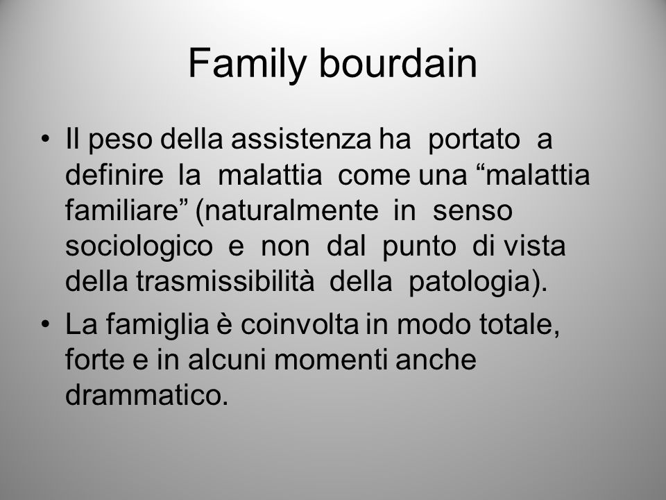 Family bourdain