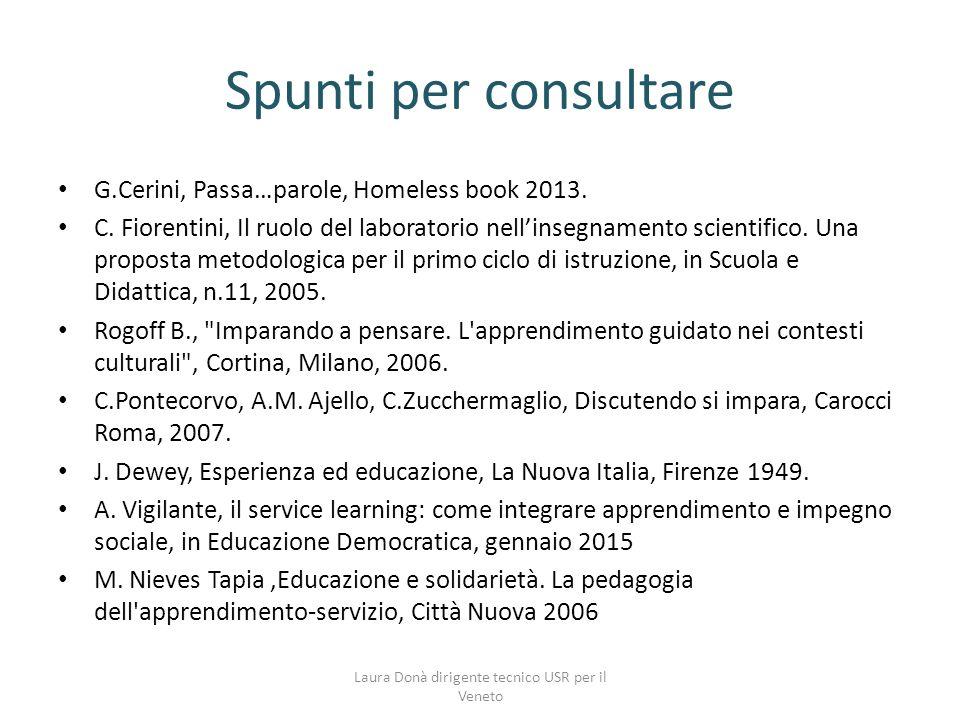 Laura Donà dirigente tecnico USR per il Veneto