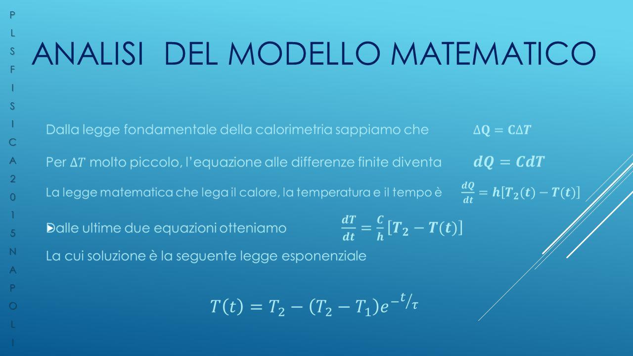 Analisi del modello matematico