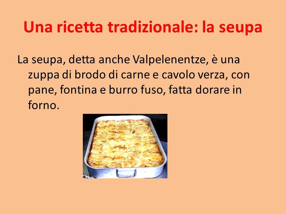 Una ricetta tradizionale: la seupa