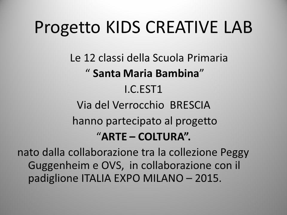 Progetto KIDS CREATIVE LAB