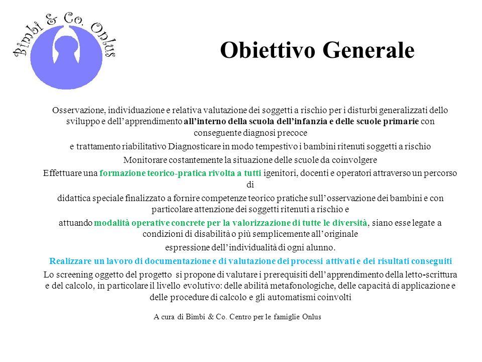 Obiettivo Generale
