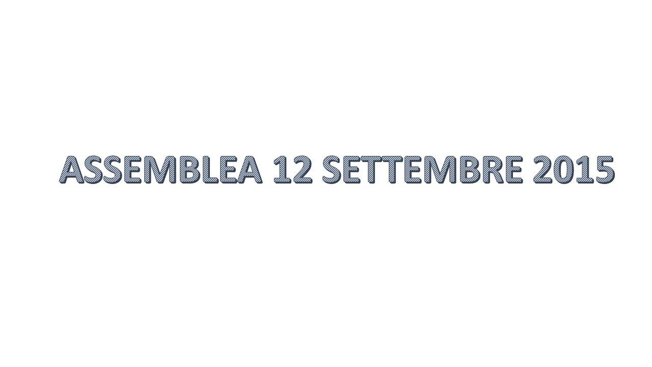 ASSEMBLEA 12 SETTEMBRE 2015