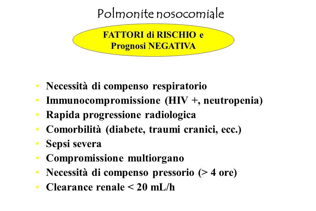 Polmonite nosocomiale