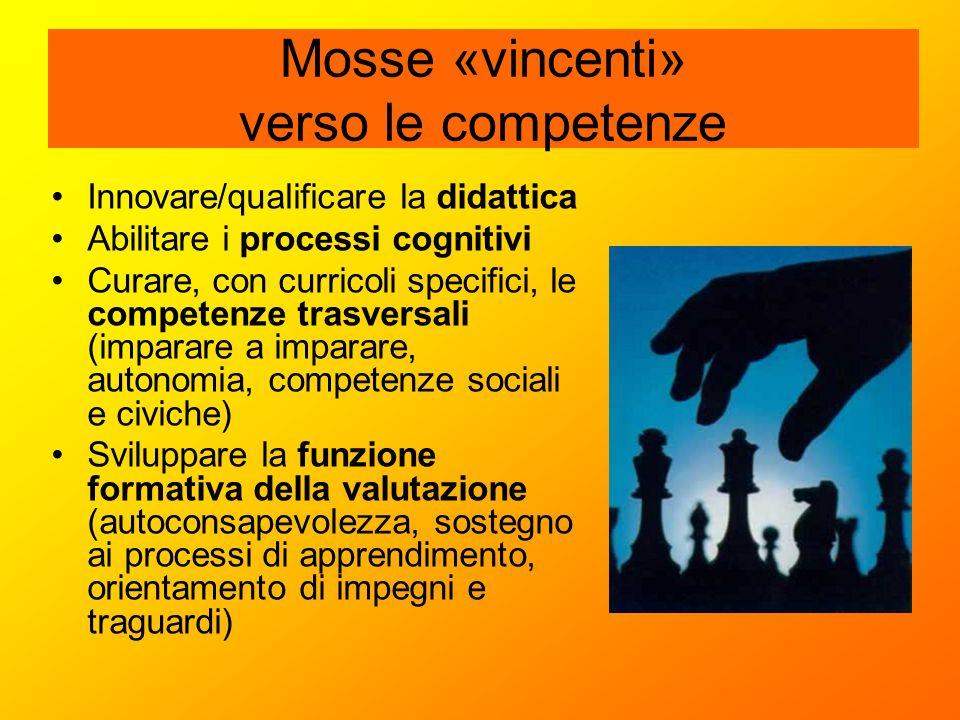 Mosse «vincenti» verso le competenze