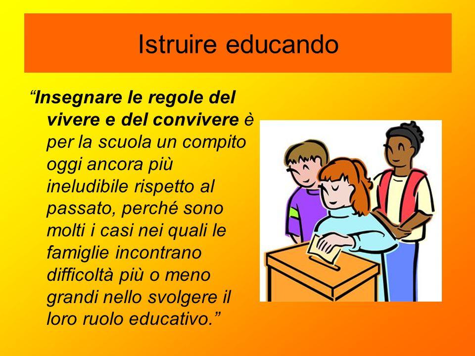Istruire educando